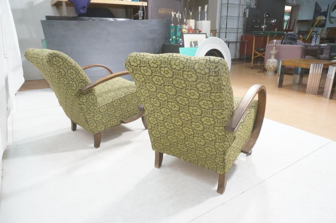Pr JINDRICH HALABALA Attrib. Modernist Lounge Cha - 4