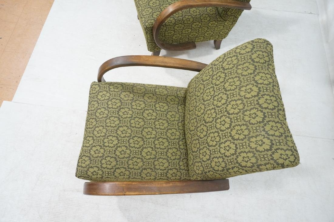 Pr JINDRICH HALABALA Attrib. Modernist Lounge Cha - 8