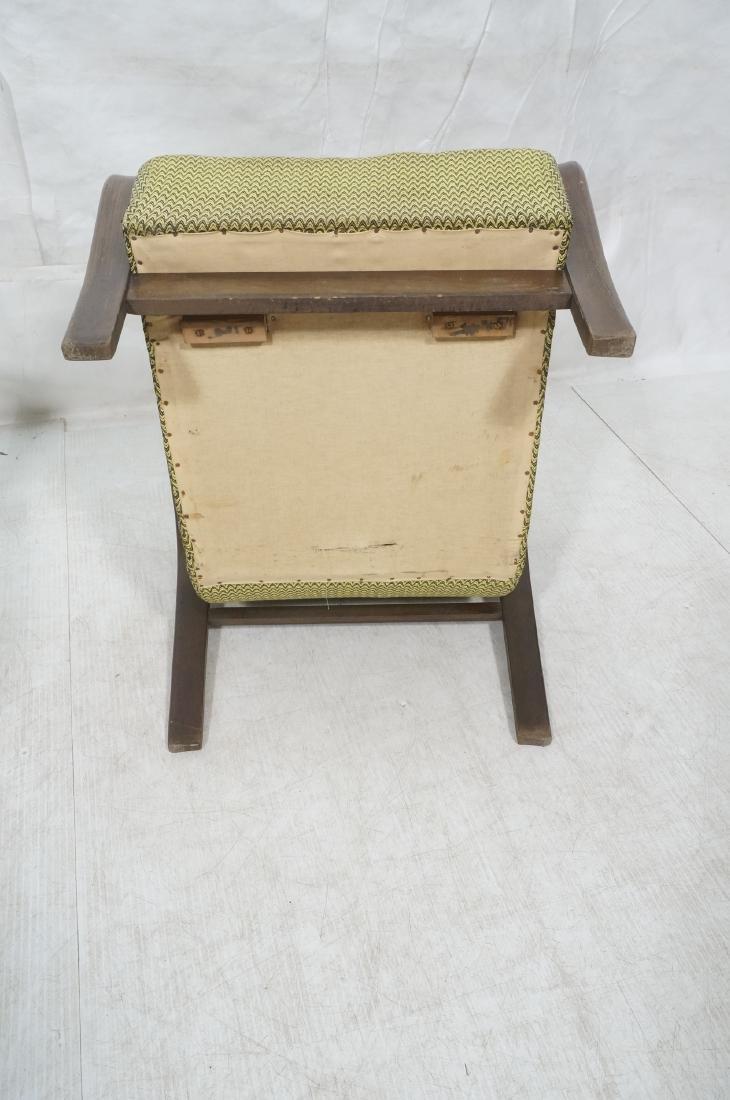 Pr JINDRICH HALABALA Modernist Lounge Chairs. Gre - 10