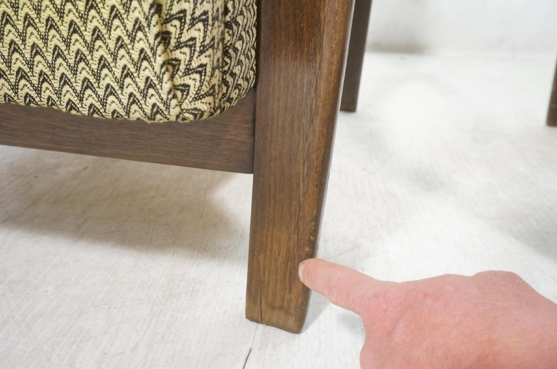 Pr JINDRICH HALABALA Modernist Lounge Chairs. Gre - 7