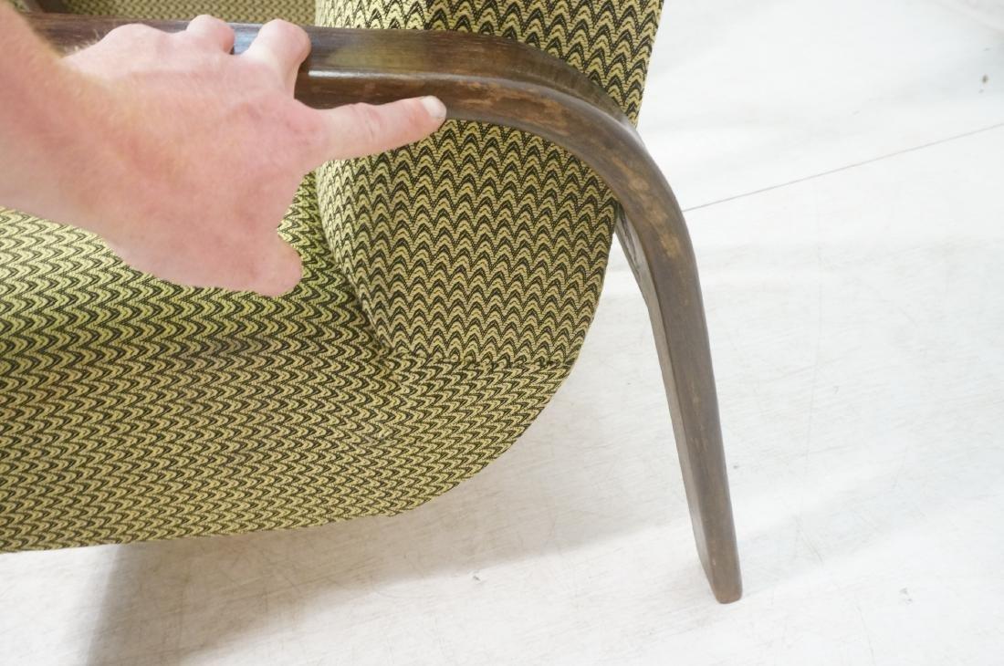 Pr JINDRICH HALABALA Modernist Lounge Chairs. Gre - 8