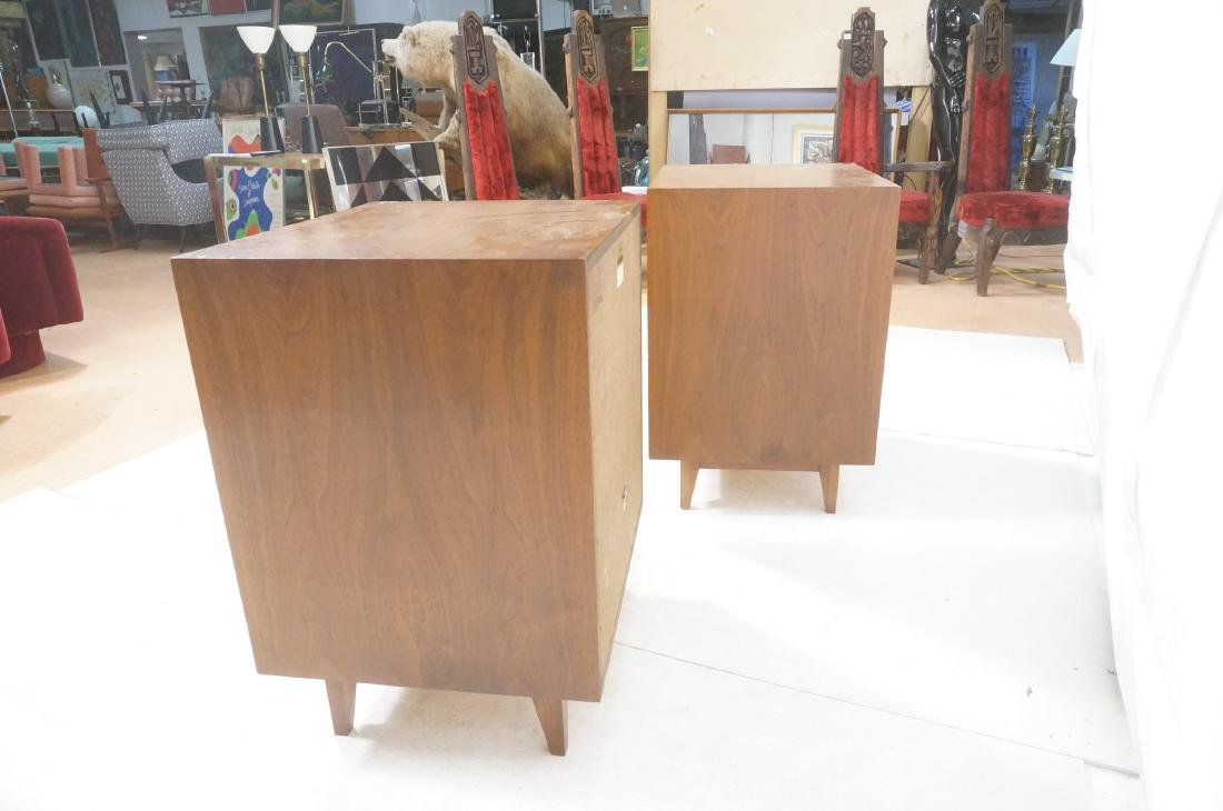 Pr American Modern Walnut BOZAK Stereo Speakers. - 6