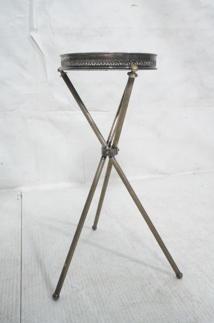 Regency Style Small Tripod Tray Table. 3 corseted - 2