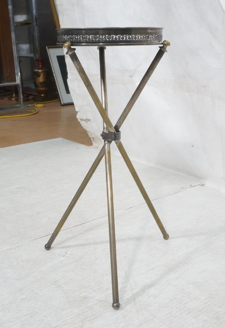 Regency Style Small Tripod Tray Table. 3 corseted - 4