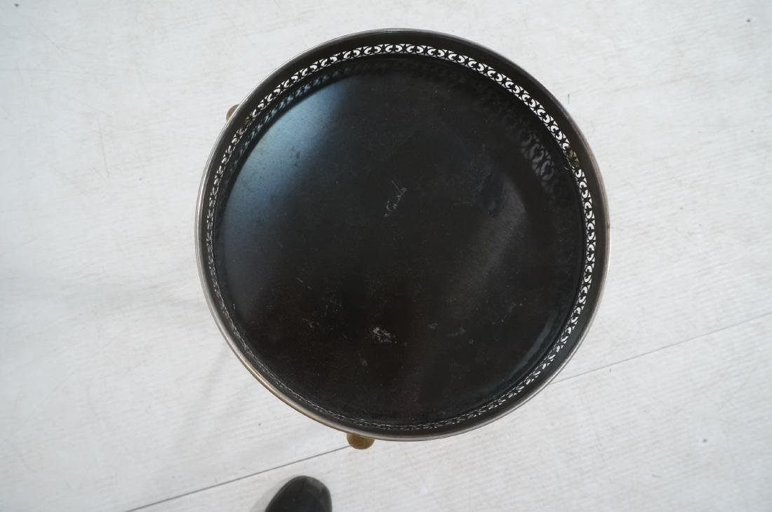 Regency Style Small Tripod Tray Table. 3 corseted - 7