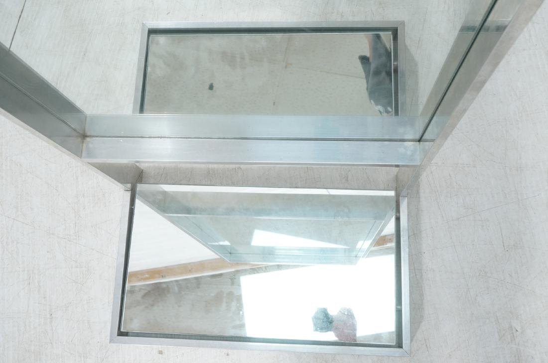 Aluminum Standing Countertop Store Mirror. Modern - 3