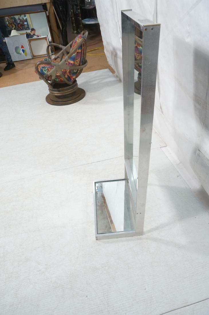 Aluminum Standing Countertop Store Mirror. Modern - 4