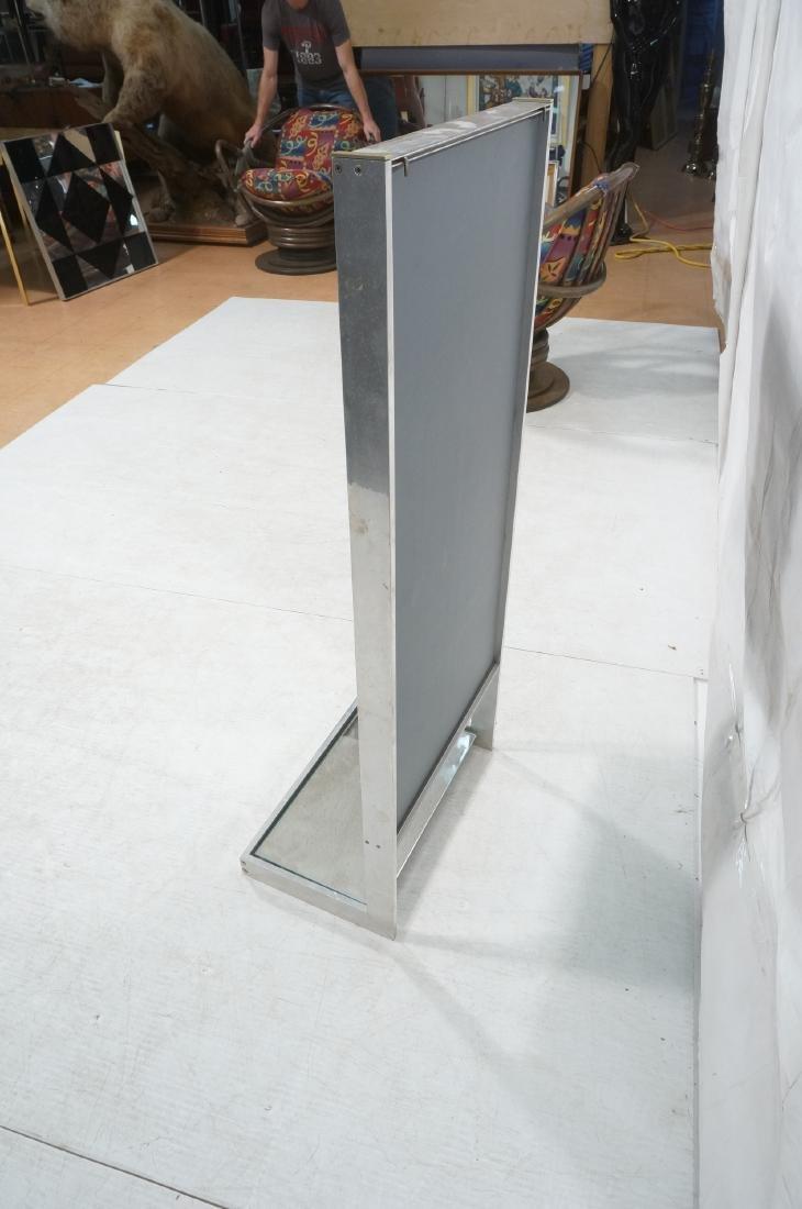 Aluminum Standing Countertop Store Mirror. Modern - 5