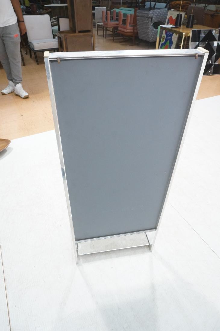 Aluminum Standing Countertop Store Mirror. Modern - 7
