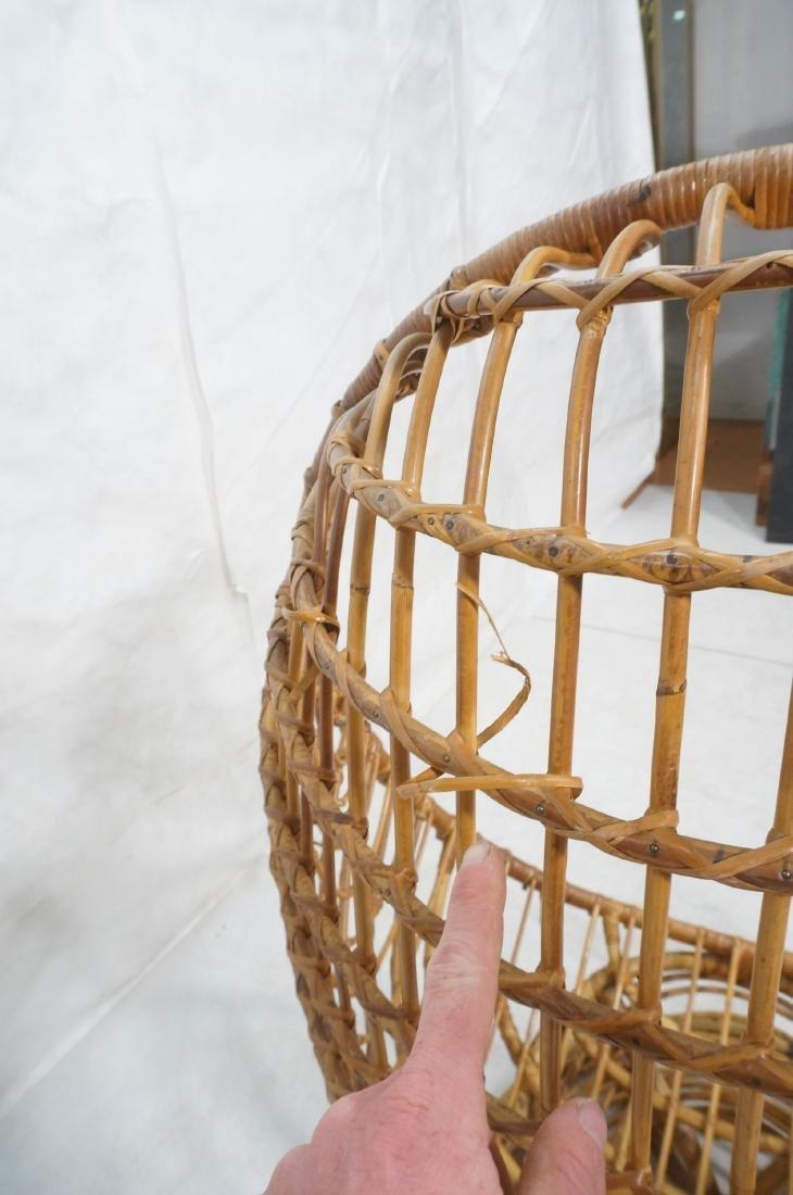 Woven Rattan Modern Egg Chair Cocoon. Swollen bam - 10