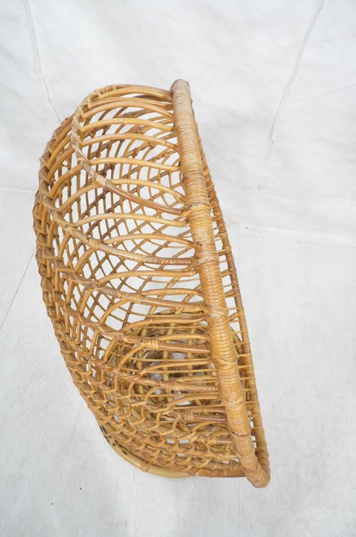 Woven Rattan Modern Egg Chair Cocoon. Swollen bam - 6