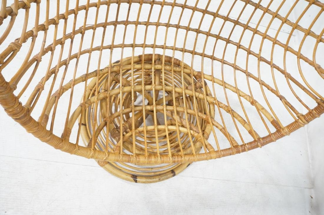 Woven Rattan Modern Egg Chair Cocoon. Swollen bam - 7