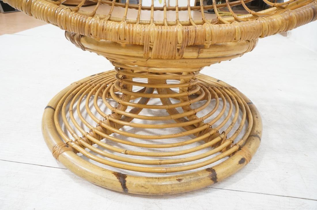 Woven Rattan Modern Egg Chair Cocoon. Swollen bam - 8