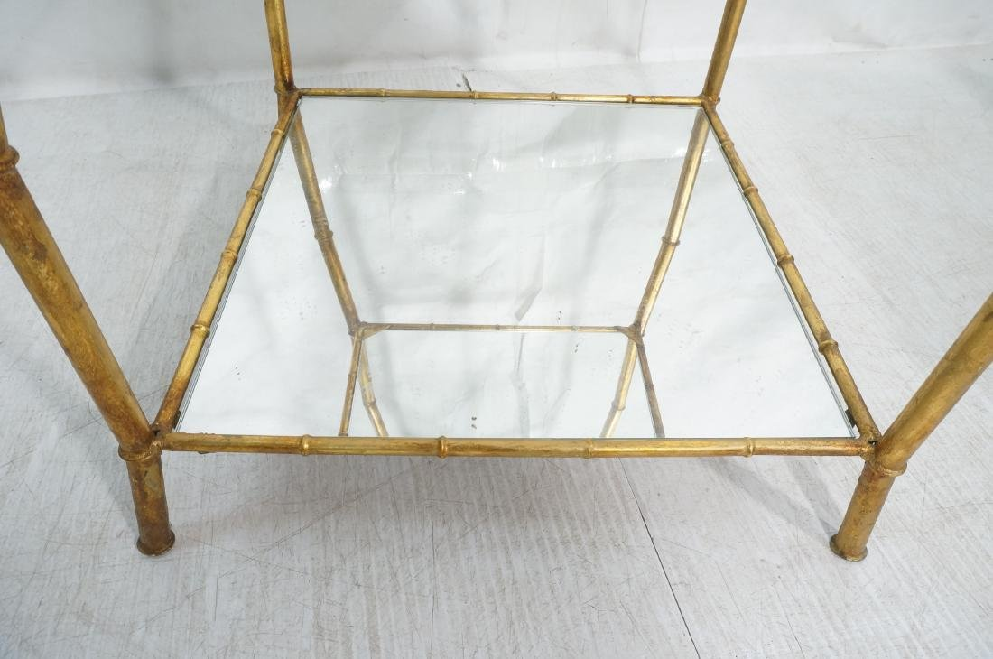 Gilt Metal Italian What Not Display Shelf Etagere - 8