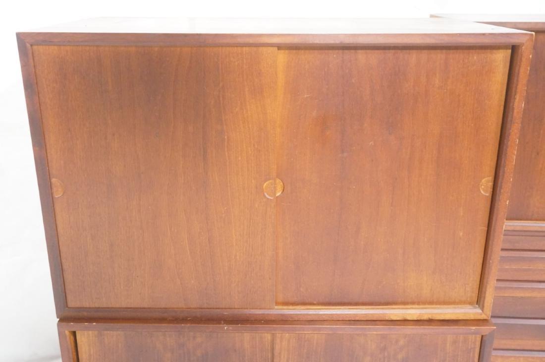 Set of 4 Danish Modern Modernist Wall Cabinets. D - 3