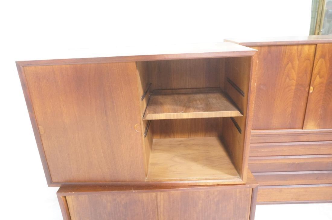 Set of 4 Danish Modern Modernist Wall Cabinets. D - 5