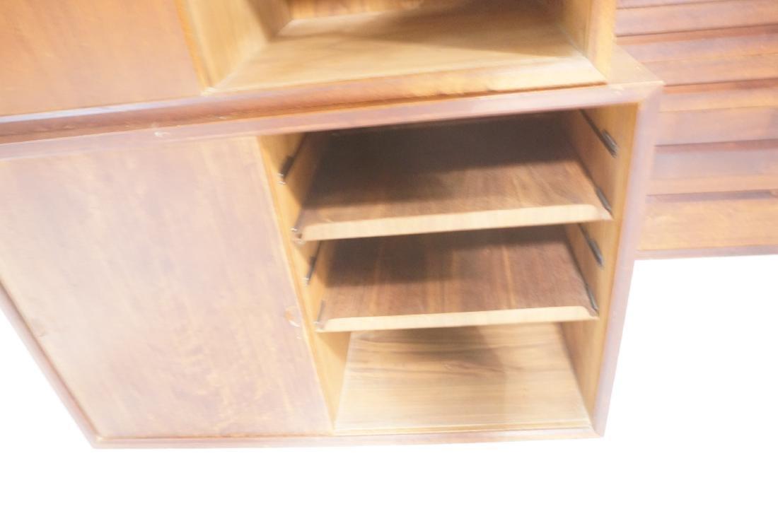 Set of 4 Danish Modern Modernist Wall Cabinets. D - 6