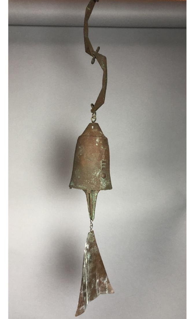 PAOLO SOLERI For ARCOSANTI Bronze Bell Wind Chime