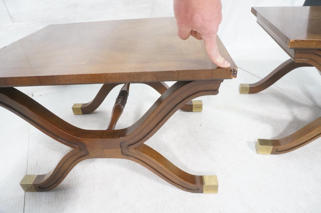 Pr DOROTHY DRAPER Modernist Side End Tables. X fo - 11