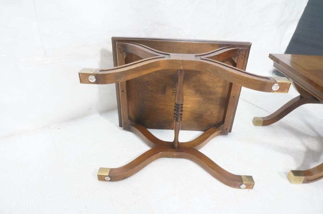 Pr DOROTHY DRAPER Modernist Side End Tables. X fo - 12