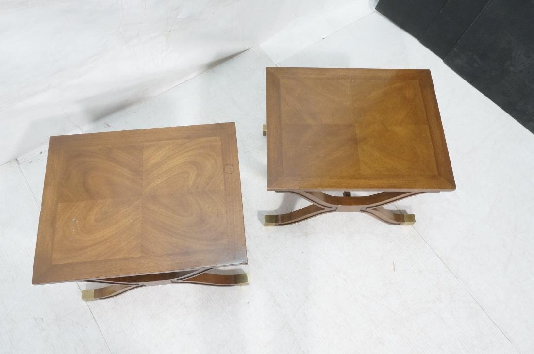 Pr DOROTHY DRAPER Modernist Side End Tables. X fo - 3