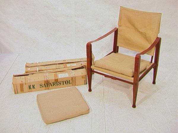 194: 2 KAARE KLINT Campaign Chairs. Rud Rasmussens Sned