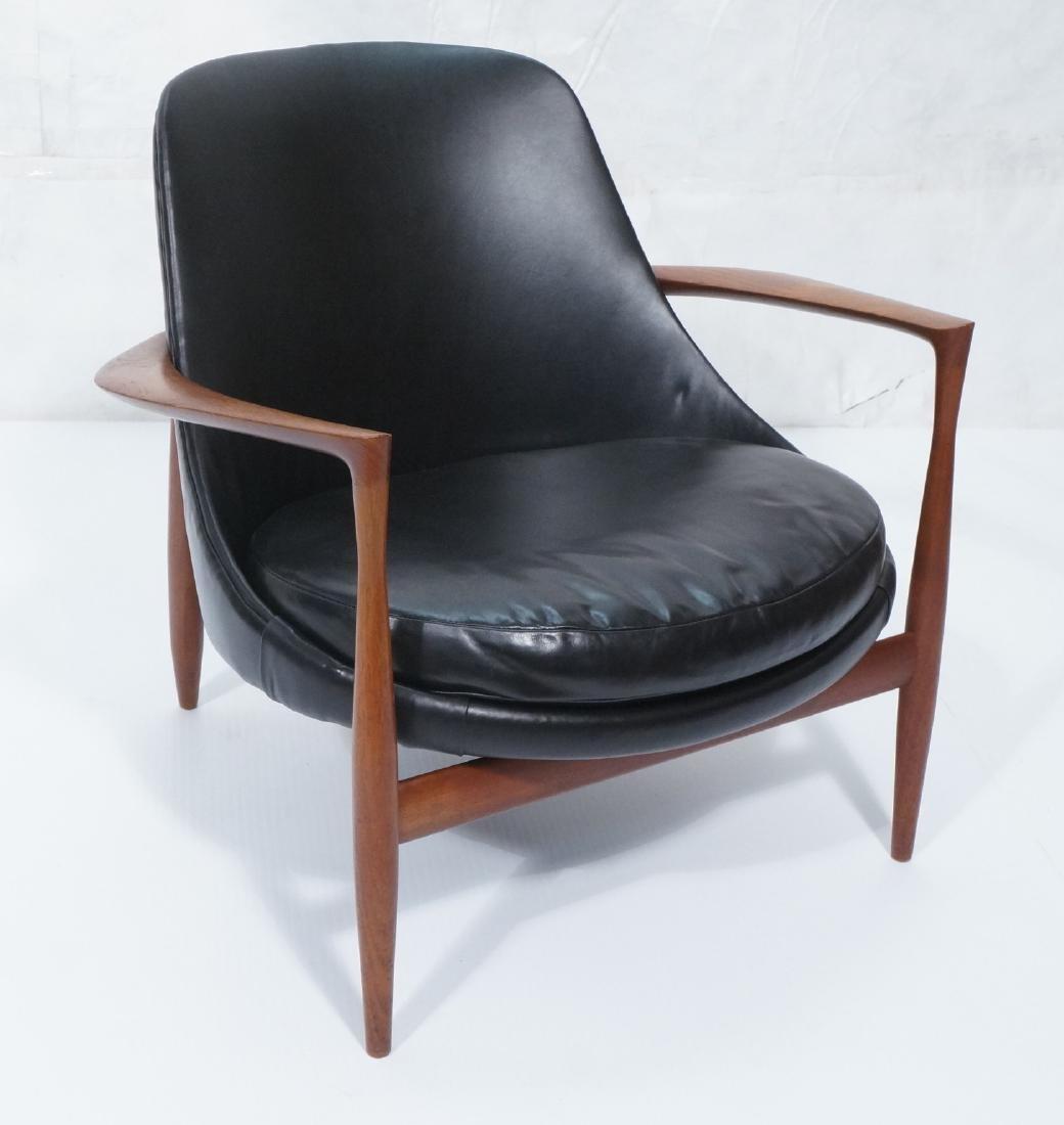 Rare IB KOFOD LARSEN Teak Elizabeth Chair. Model