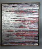 GOLDBERG Abstract Modernist Oil Painting. Compose