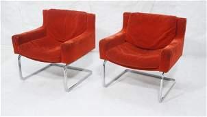 Pr Stendig MILO BAUGHMAN Style Chrome Lounge Chai