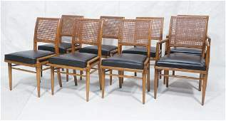 Set 8 Cane back Modern Dining Chairs Decorator s