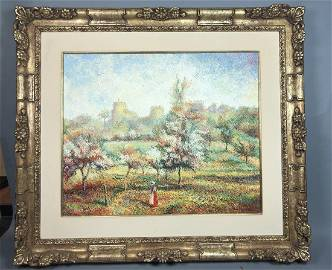 HUGUES CLAUDE PISSARRO Impressionist French Lands