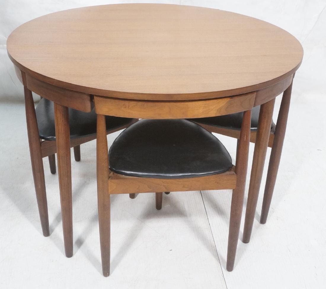 HANS OLSEN FREM ROJLE 5pc Modernist Dining Set. R