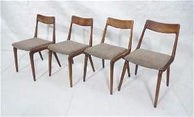 Set 4 KAI KRISTIANSEN Boomerang Dining Chairs. Da