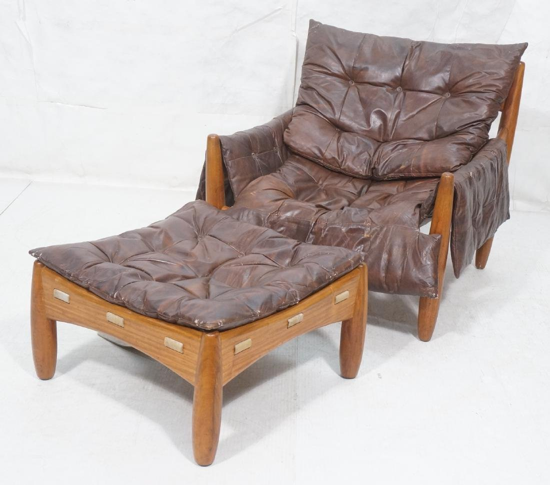 SERGIO RODRIGUES Sheriff Lounge Chair u0026 Ottoman. & Sergio Rodrigues Prices - 121 Auction Price Results