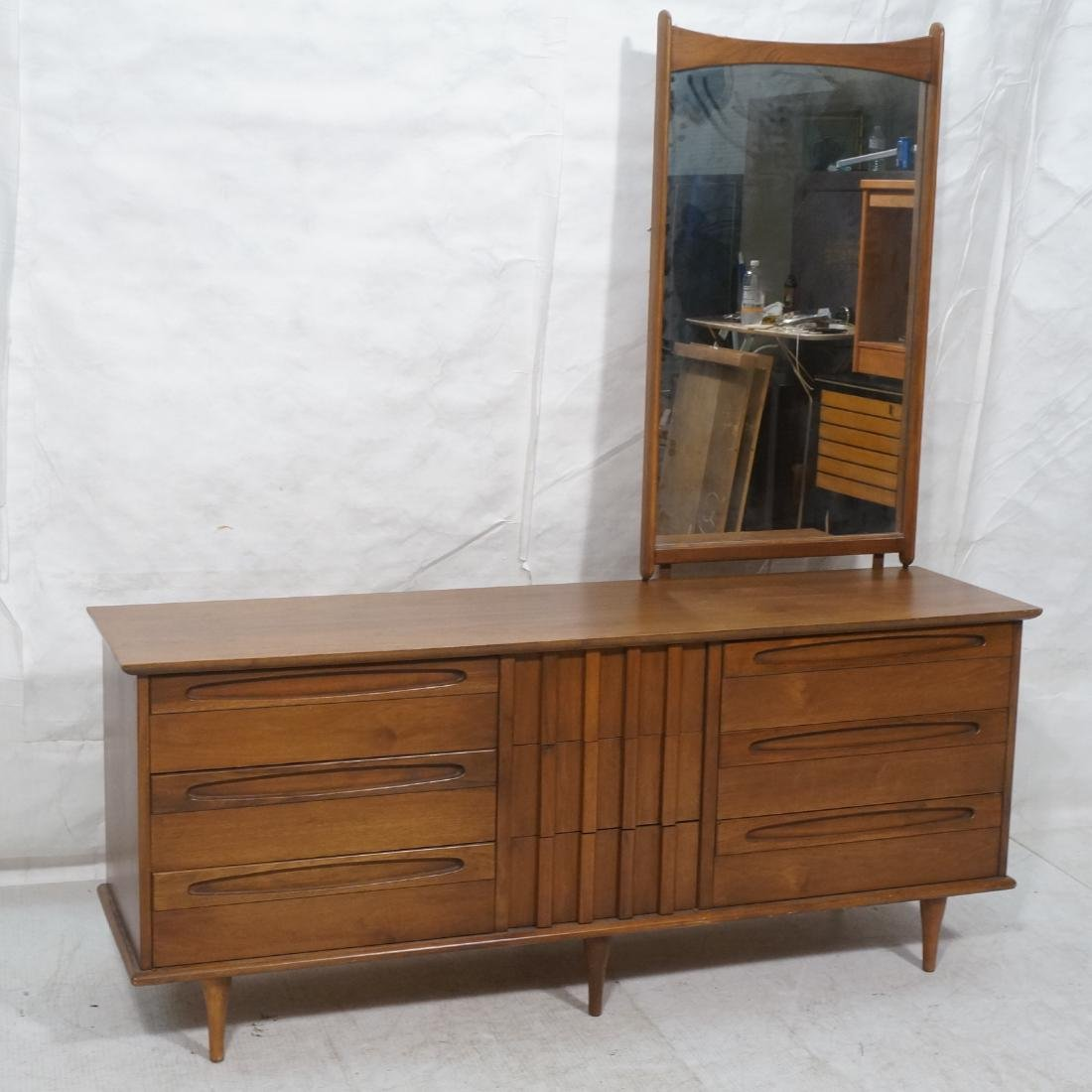AMERICAN Of Martinsville Low Chest Credenza With