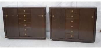 Pr Oversized Dunbar Attributed Chiffarobe Dresser