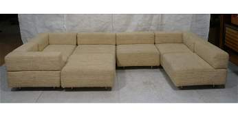 HARVEY PROBBER CUBO Sectional Sofa 6 pieces