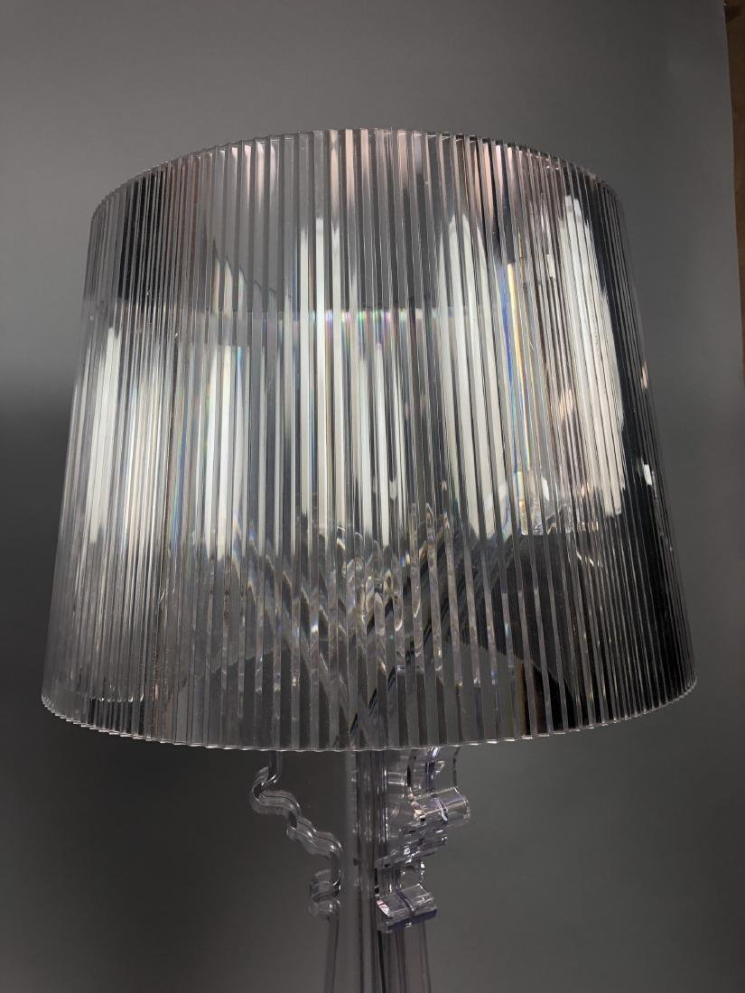Pr KARTELL by F. LAVIANI Lucite 'Ghost' Lamps. Cl - 4