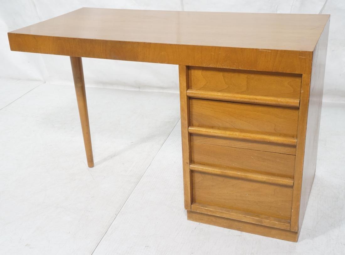 ROBSJOHN GIBBINGS Modernist Writing Desk. 3 drawe