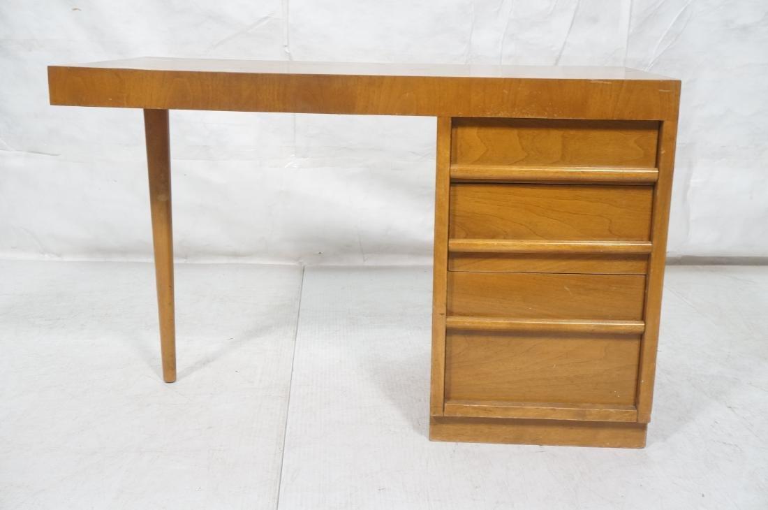 ROBSJOHN GIBBINGS Modernist Writing Desk. 3 drawe - 2