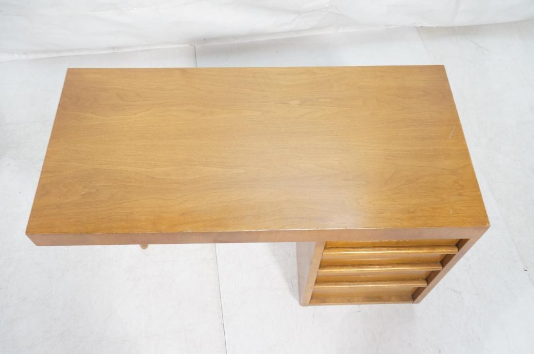 ROBSJOHN GIBBINGS Modernist Writing Desk. 3 drawe - 3