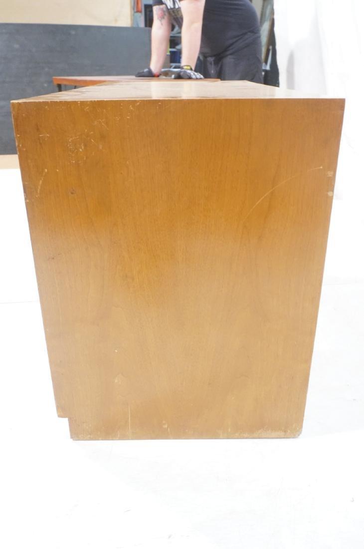 ROBSJOHN GIBBINGS Modernist Writing Desk. 3 drawe - 4