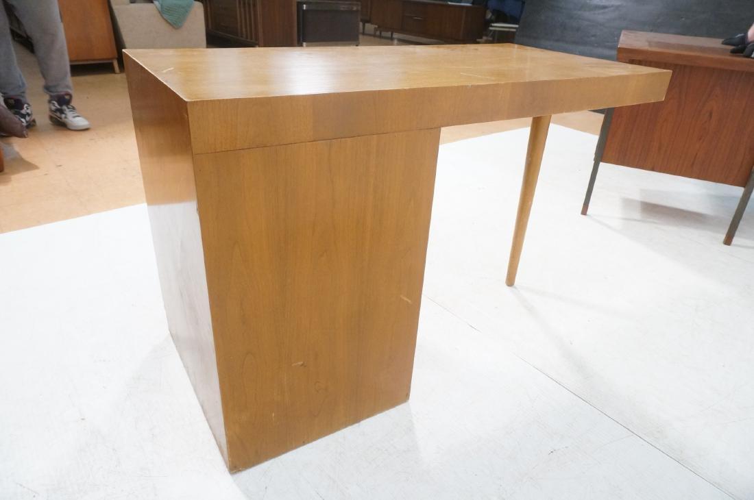 ROBSJOHN GIBBINGS Modernist Writing Desk. 3 drawe - 5