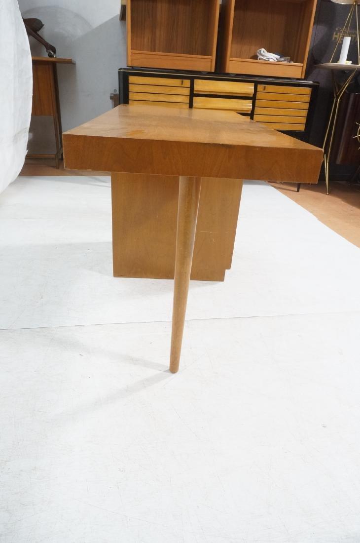 ROBSJOHN GIBBINGS Modernist Writing Desk. 3 drawe - 6