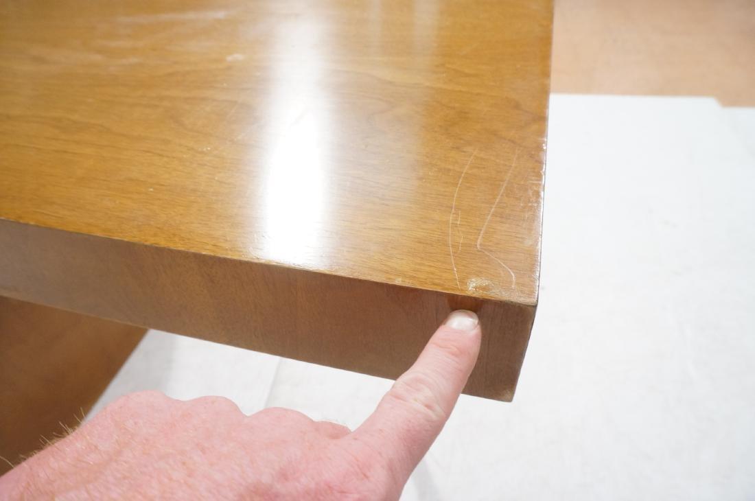 ROBSJOHN GIBBINGS Modernist Writing Desk. 3 drawe - 7