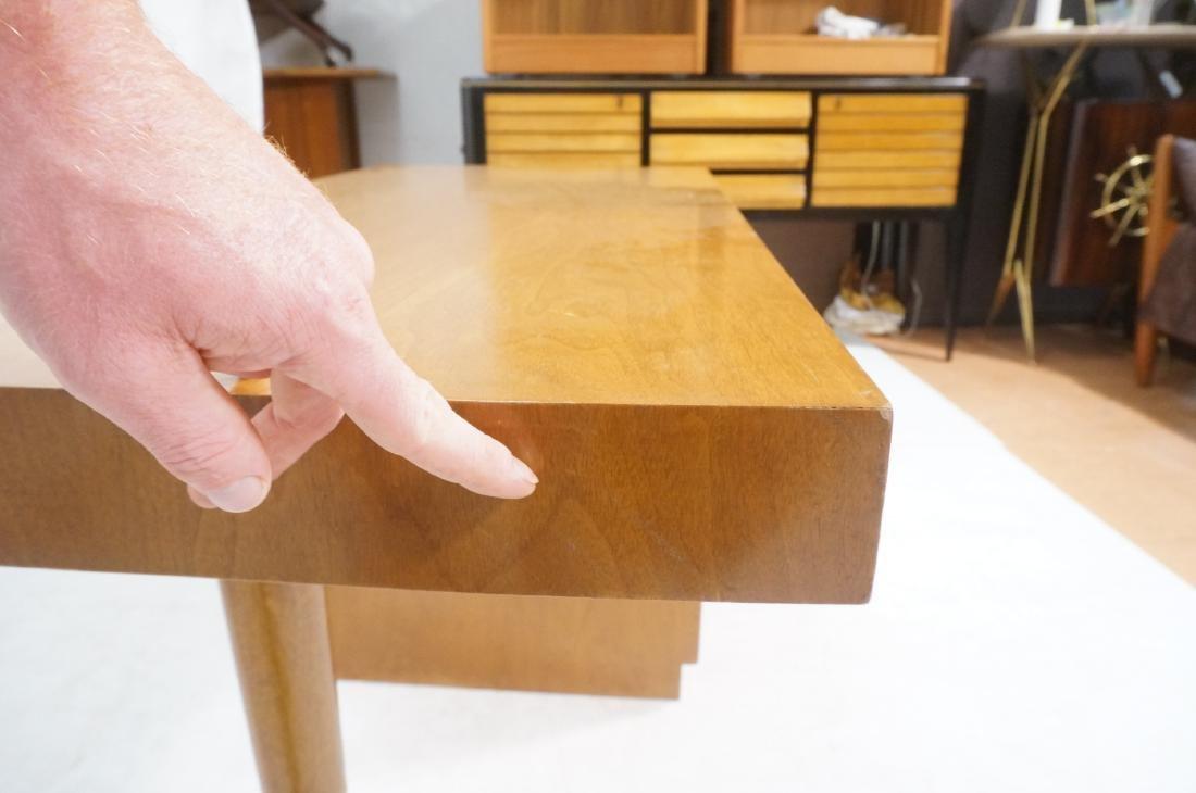 ROBSJOHN GIBBINGS Modernist Writing Desk. 3 drawe - 8