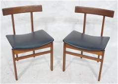 Pr FRANCE  SONS Danish Modern Teak Side Chairs
