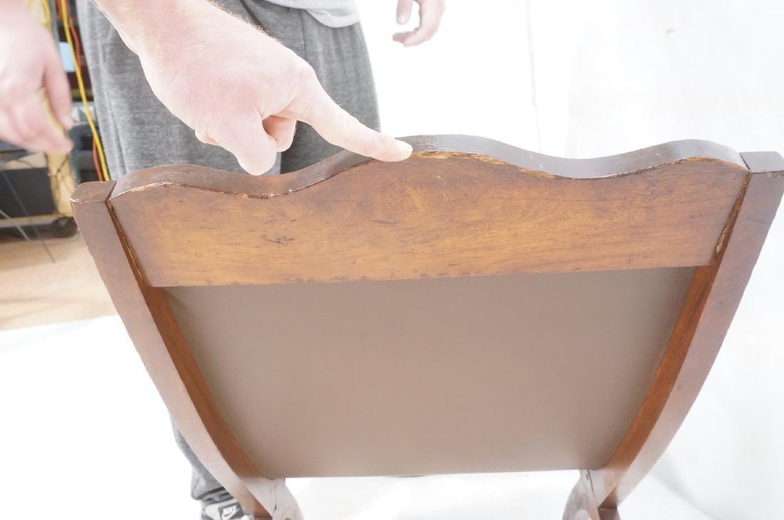 CLARA PORSET Butaque Brown Leather Lounge Chair. - 10