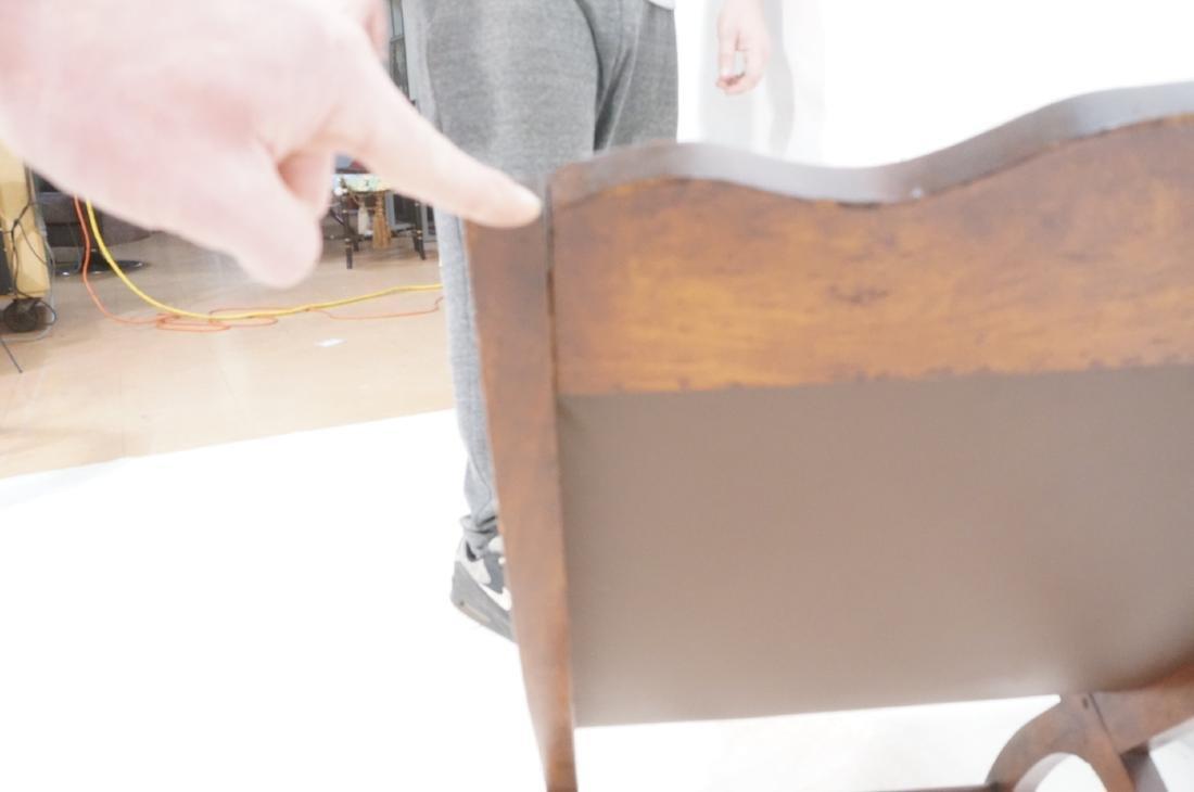CLARA PORSET Butaque Brown Leather Lounge Chair. - 8