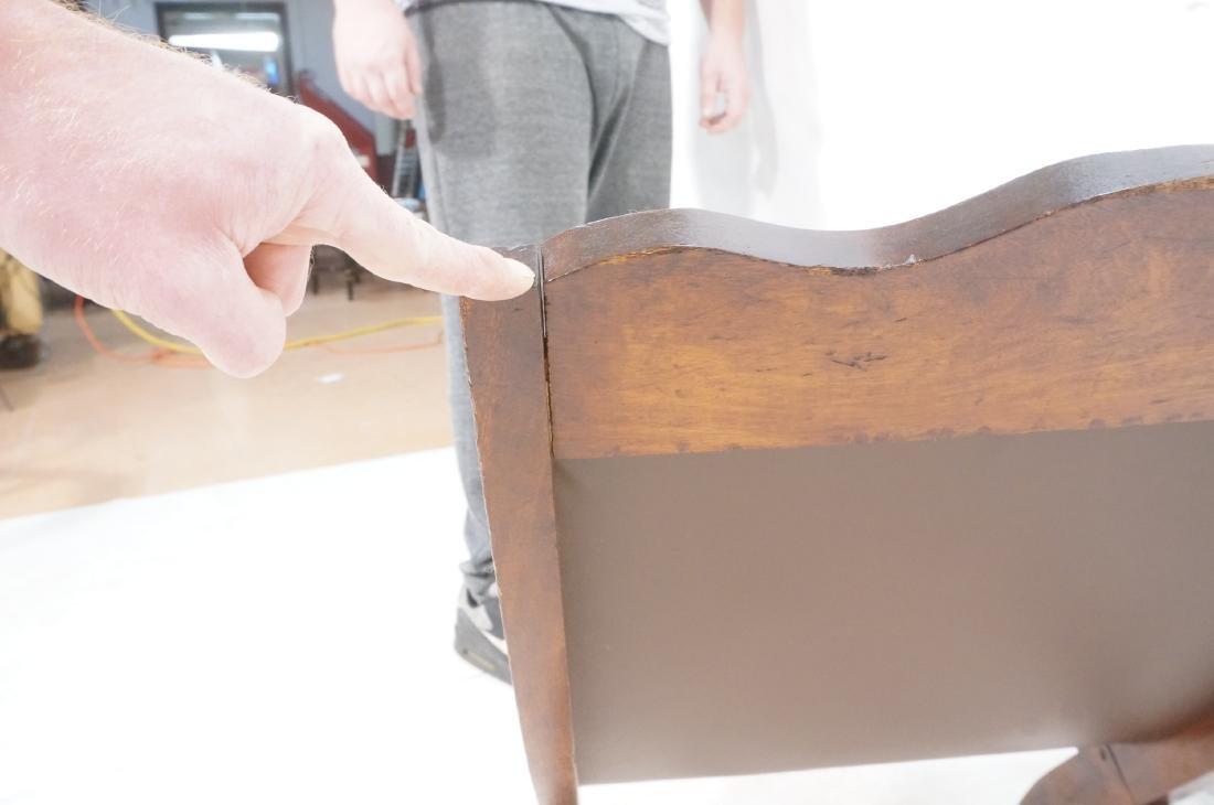 CLARA PORSET Butaque Brown Leather Lounge Chair. - 9